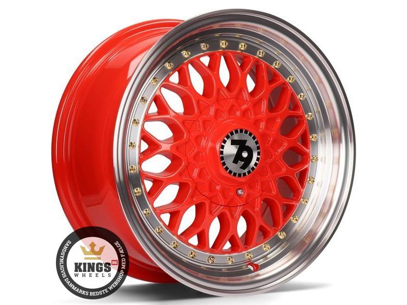 FÆLGE 15 4x100 seventy9 SV-E Red LP