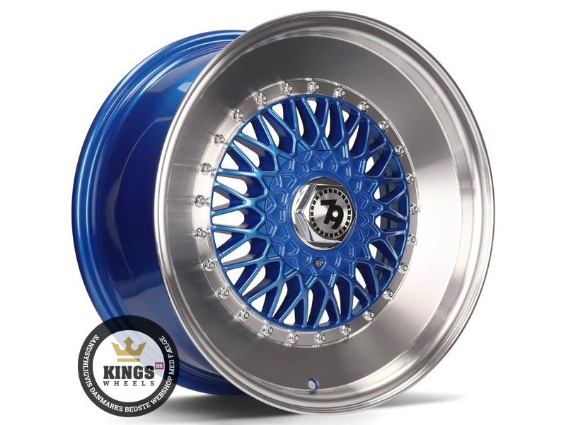 FÆLGE 15 4x100 seventy9 SV-F Blue LP
