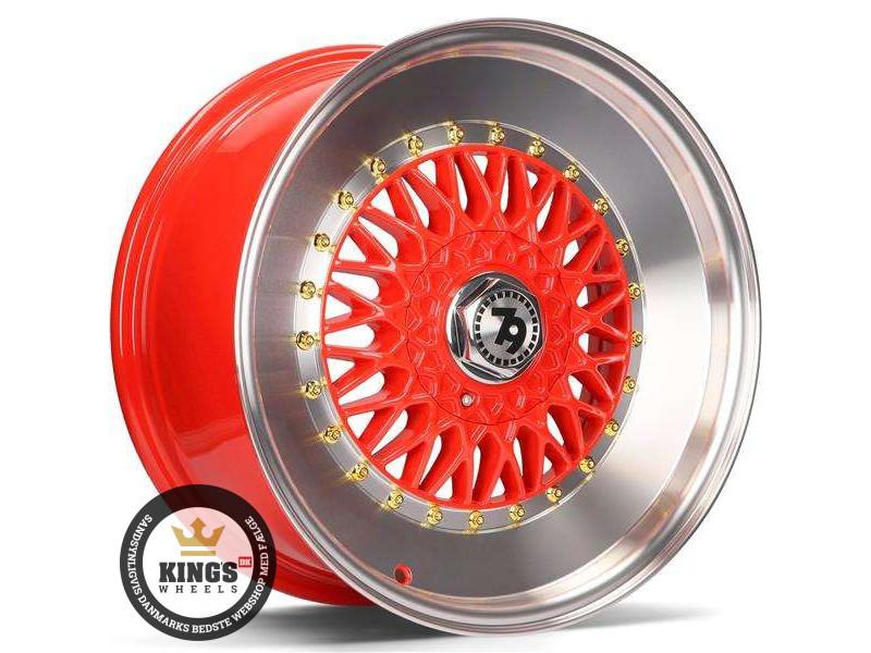 FÆLGE 15 4x100 seventy9 SV-F Red LP