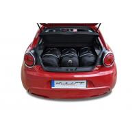 Rejsetaske sæt til ALFA ROMEO MITO HATCHBACK 2008+ CAR BAGS SET 3 PCS